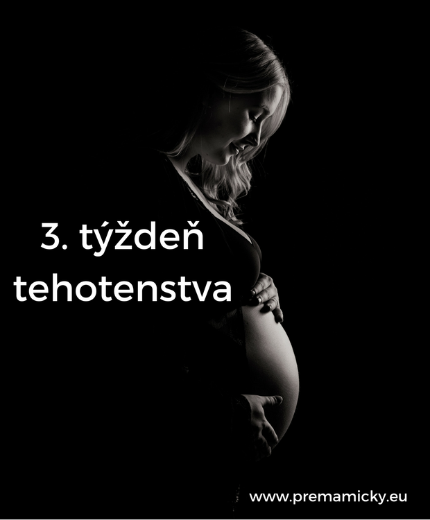 3. týždeň tehotenstva