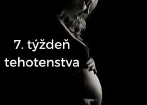 7. týždeň tehotenstva