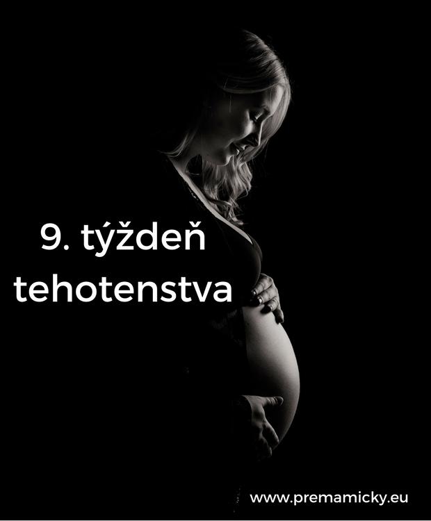 9. týždeň tehotenstva