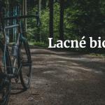 lacné bicykle
