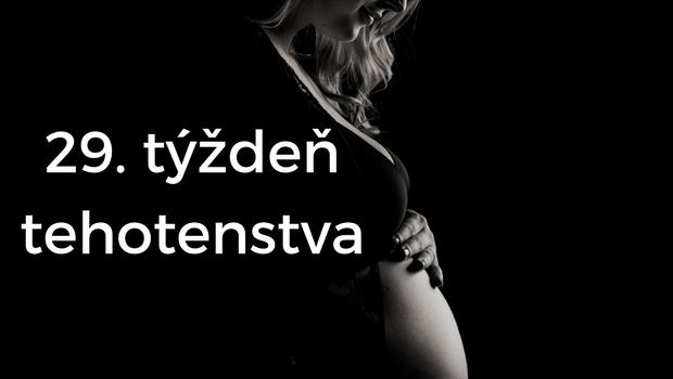 29. týždeň tehotenstva