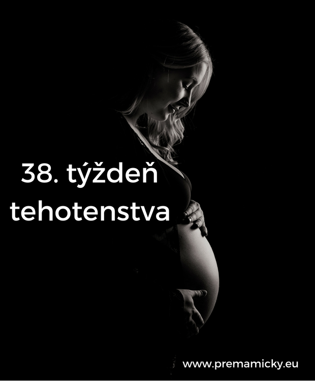 38. týždeň tehotenstva