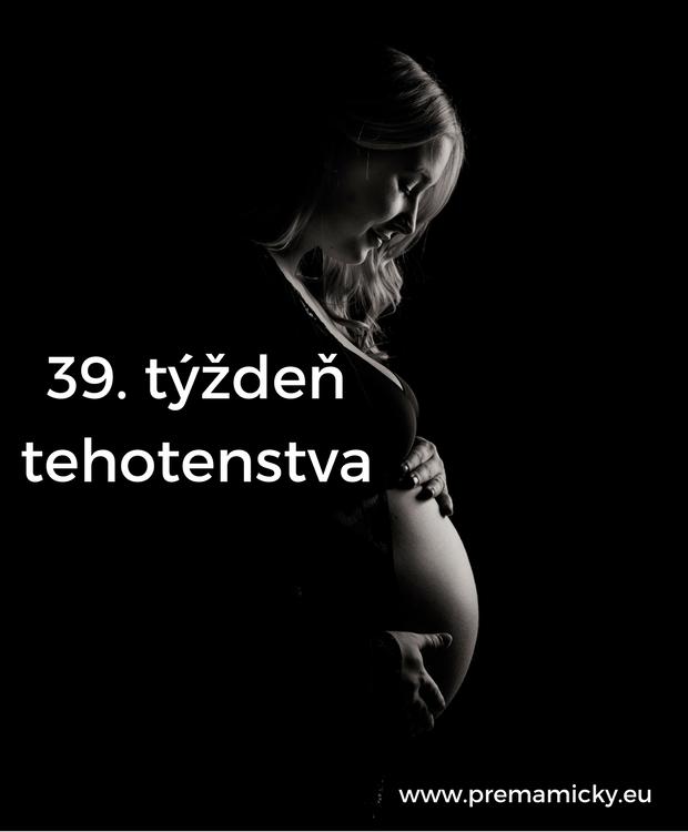 39. týždeň tehotenstva
