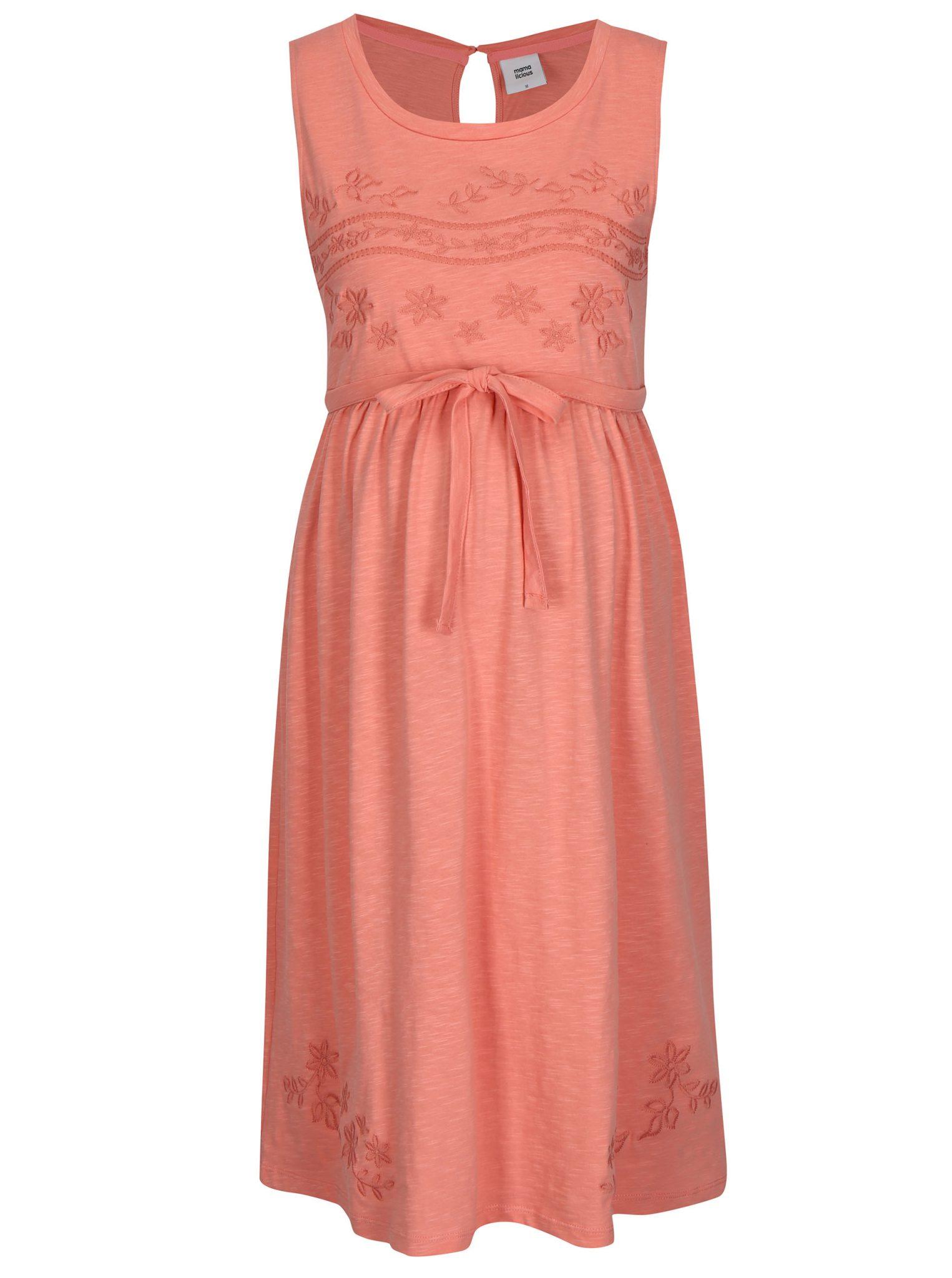bf6ae9c6a708 Tehotenské šaty na každú príležitosť - Buďte krásnap - Premamičky.eu