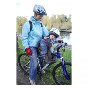 Detská sedačka na bicykel