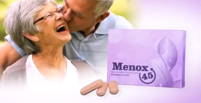 Menox 45 je nápomocný pri problémoch v období prechodu, teda menopauzy