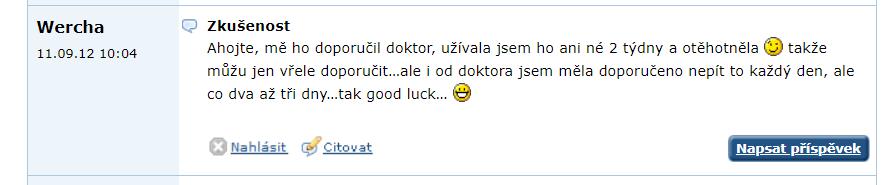 Recenzia na Nosifol na portáli emimino.cz